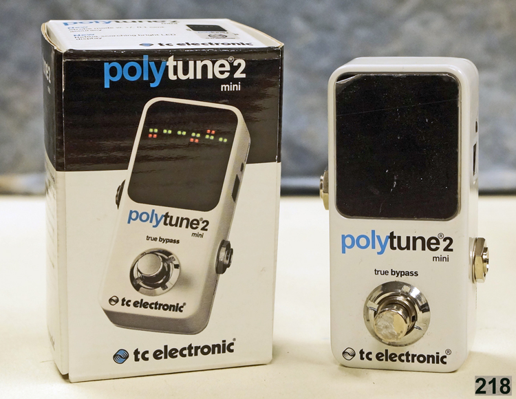 218 tc electronic polytune 2 mini polyphonic tuning pedal 695637259756 ebay. Black Bedroom Furniture Sets. Home Design Ideas
